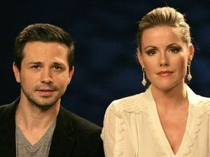Kathleen Robertson (90210) and Freddy Rodriguez (Six Feet Under) talk about their controversial film 'Seal Team Six: The Raid On Osama Bin Laden': http://uinterview.com/videos/kathleen-robertson-and-freddie-rodriguez-on-seal-team-six