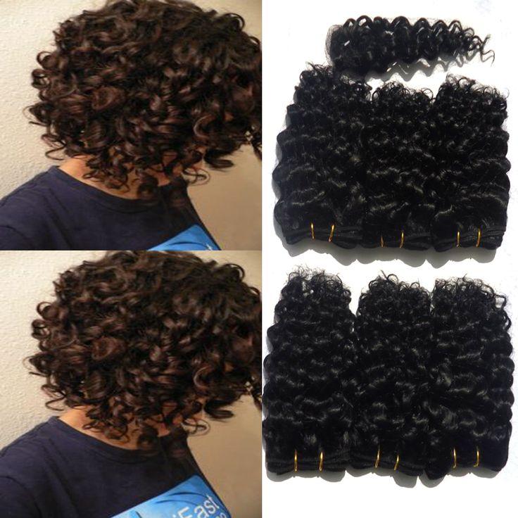 ngắn xoăn bob humain tóc perruque kinky xoăn afro vẻ đẹp bây giờ sâu xoăn tóc ân sủng 8 inch mùa hè phong cách tóc xoăn ngắn