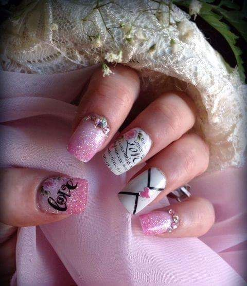 Distinct Professionally Manicured Nails Perfect For Valentine Date