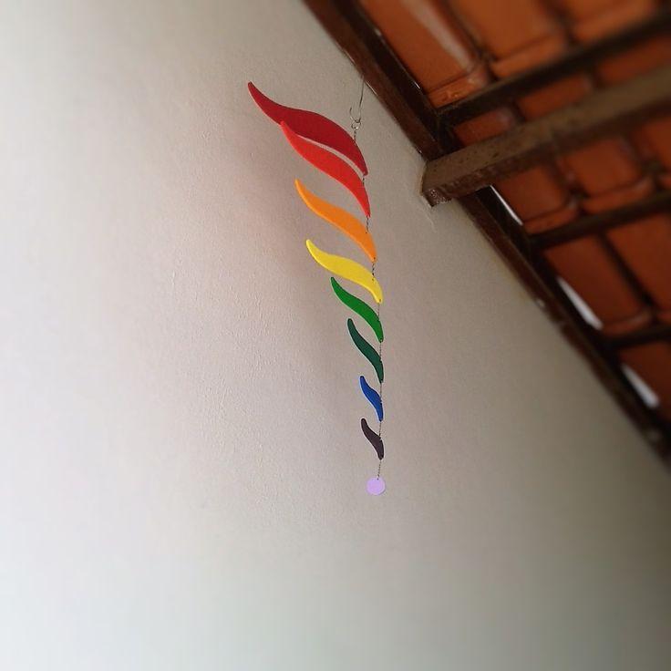 Móbile Montessoriano Arco-íris