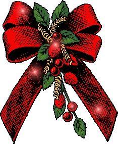 Christmas bow graphics