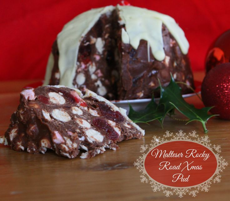 Malteser Rocky Road Xmas Pudding