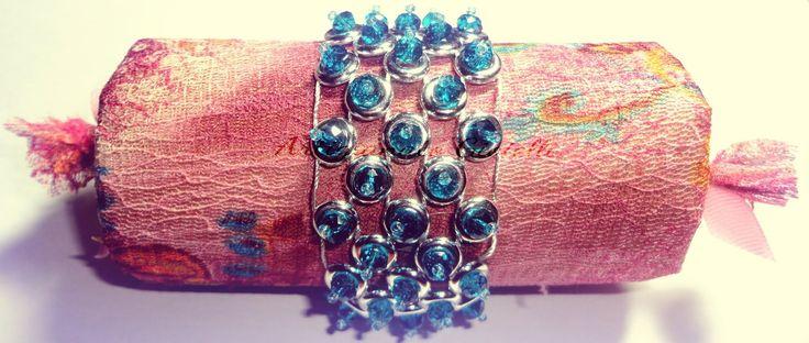 Bracciale Pre Post Hobby Show - #hobbyshow #cristalli #handmade #bijoux #bracelet #bijuteria #artigianatogioielli #artigianato #gioielli #tutorial