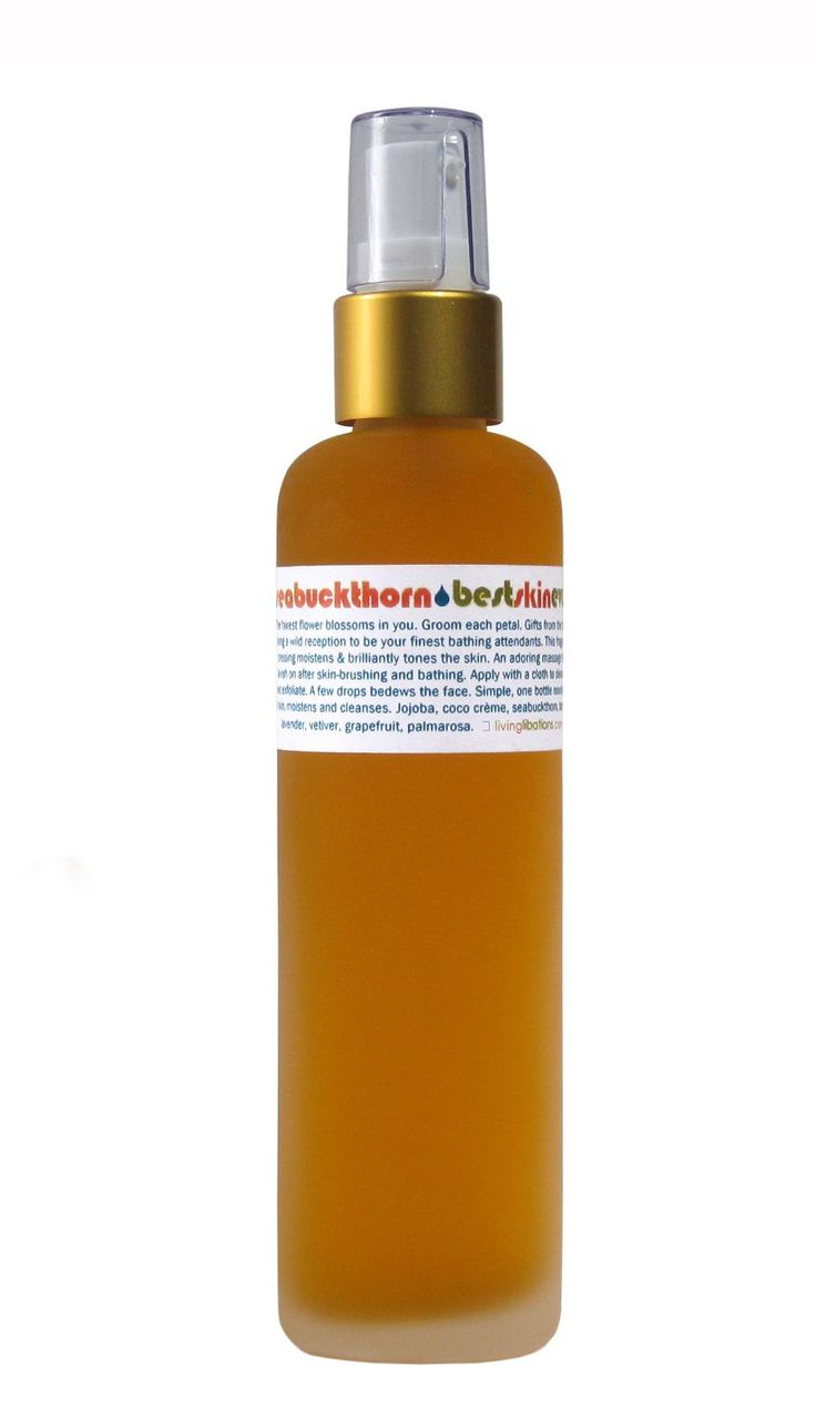 Living Libations - Organic / Wildcrafted Best Skin Ever: Seabuckthorn Facial Cleansing Oil + Moisturizer (1.7 oz)