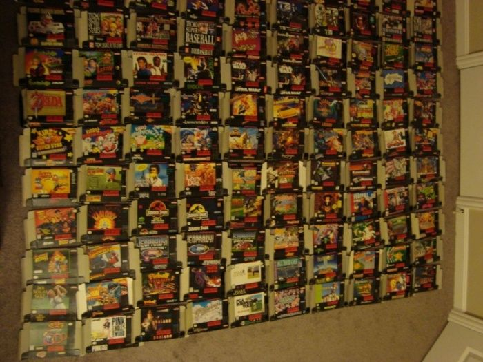 Ultimate US Super Nintendo Collection is Currently Up for Sale on eBay