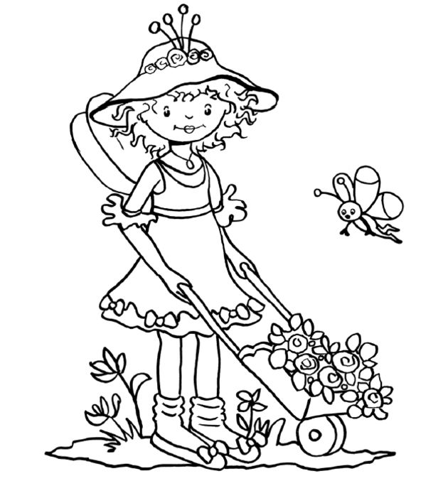 17 best images about coloring pages for girls on pinterest