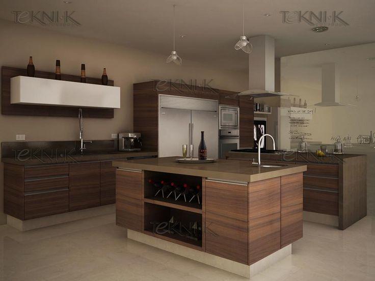 La cocina aag008 es una muestra de la perfecta - Colores para una cocina ...