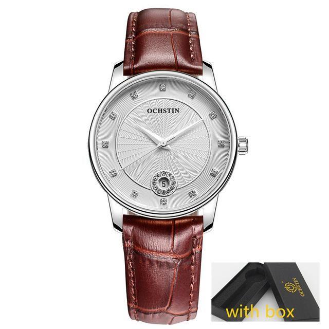 Black Classic Hot Wrist Watch Women OCHSTIN Quartz Wristwatch Clock  Quartz-watch Montre Femme Relogio
