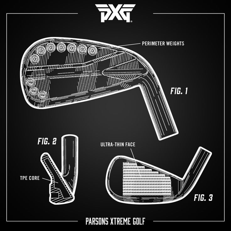 We use a patented Precision Weighting System to optimize ball flight. The internal cavity of the 0311 iron forging is precision CNC milled. High-density tungsten alloy weights strategically positioned around the perimeter of the club head add mass and help create PXG's signature look. #TechTuesday #PXG #PXGTroops