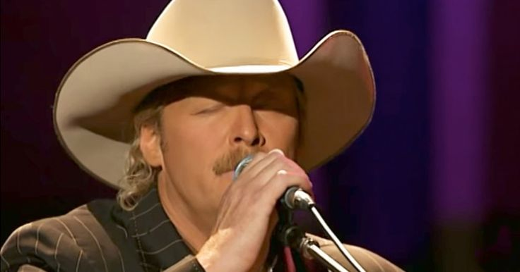Country star Alan Jackson is very open about his Christian faith. In this video, he is praising Jesus for all the world to hear.   Just listen to this amazing performance of the classic hymn 'In The Garden.' This is one of my favorite hymns and hearing it from a legend, like Alan Jackson, is absolutely beautiful.   I can't wait for that glorious day when we are all in Heaven singing and praising the Lord. Who else is worshiping like I am right now?