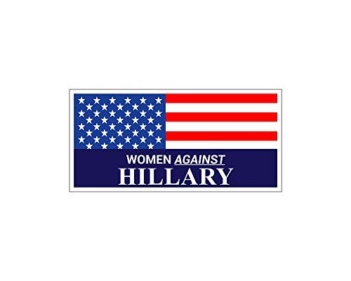 Car Magnet  Women Against Hillary Clinton Bumper Sticker Trm 295 *** Check this awesome product by going to the link at the image.Note:It is affiliate link to Amazon.