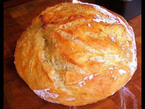 Ψωμί χωριάτικο γρήγορα και εύκολα!!!Make delicious rustic bread !!!