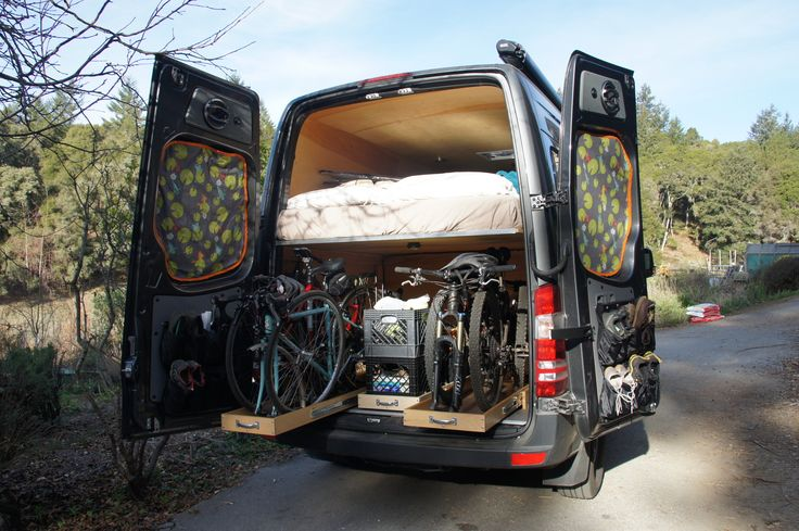 20 of the Best Camper Vans with Bike Storage