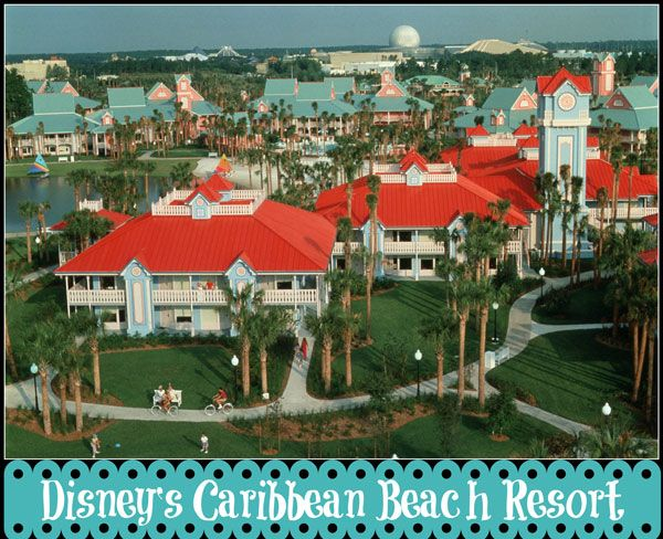Disney\'s Caribbean Beach Resort | Disney World Resorts | Pinterest ...