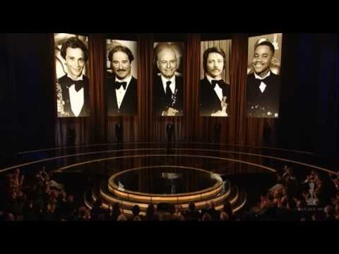 "Heath Ledger's family accepting the Best Supporting Actor Oscar® for his performance as the Joker in ""The Dark Knight"".    Presented by former Oscar winners Christopher Walken, Alan Arkin, Kevin Kline, Cuba Gooding, Jr.and Joel Grey.  81st Annual Academy Awards®."