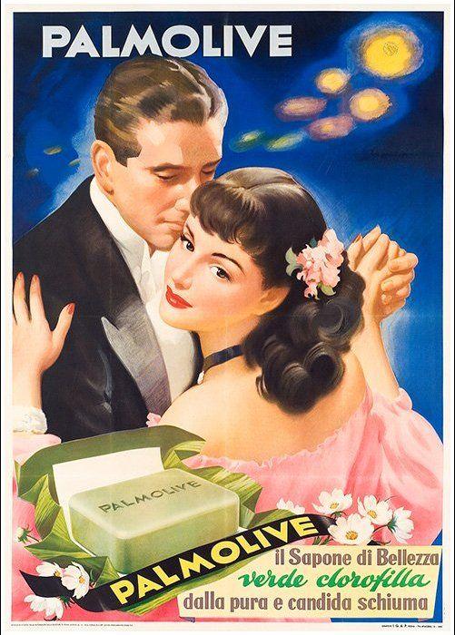 Sapone Palmolive, 1952