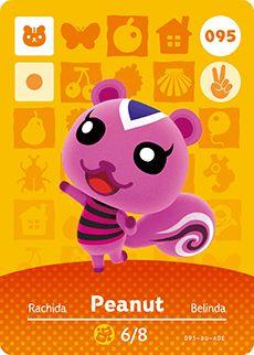Animal Crossing Peanut Card