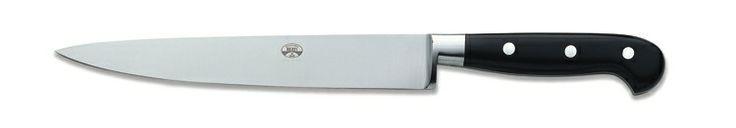 Coltello Pesce, manico plexiglass nero - Cucina / Fish knife, handle black plexiglass - Kitchen