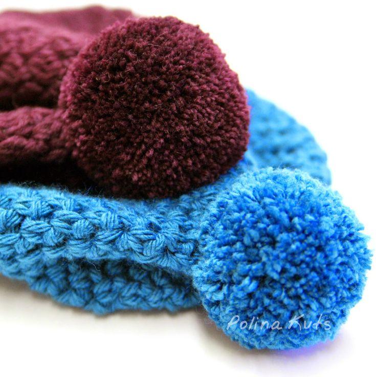 вязание шали пышный узор