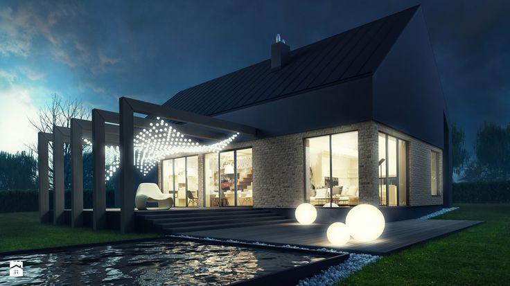 Wybieramy dom. Najpiękniejsze projekty domów z basenem - Homebook.pl