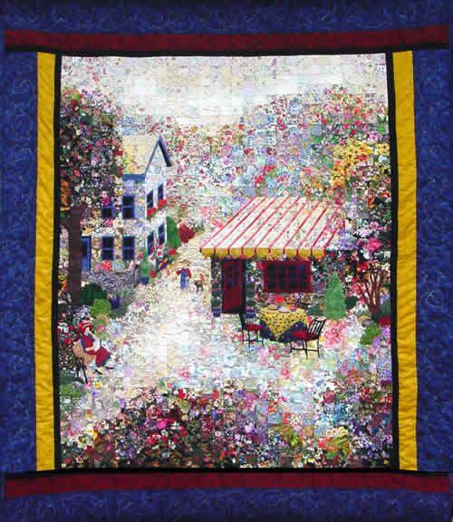Landscape Quilt Patterns Kits : 67 best images about Watercolor on Pinterest Quilt, Landscape quilts and Art quilts