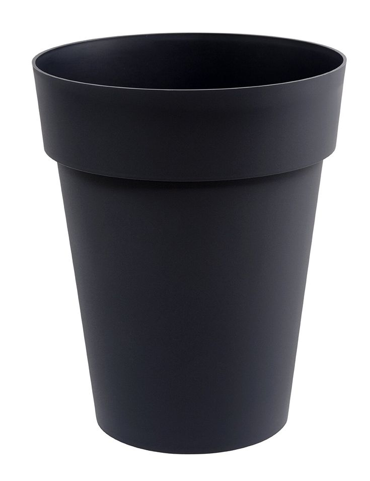Eda Plastiques Toscane 13629 G.ANT Toscane SX3 Plant Pot Polypropylene, 44 x 53 CM Anthracite * Click image to review more details. (This is an affiliate link) #OutdoorLighting