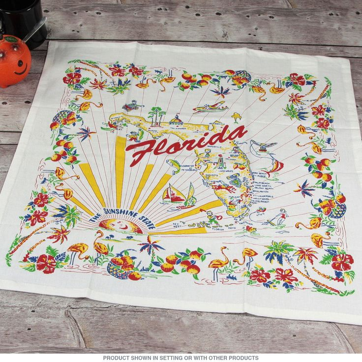 Retro Kitchen Linens: 71 Best 1950 60 70s Vintage Florida Images On Pinterest