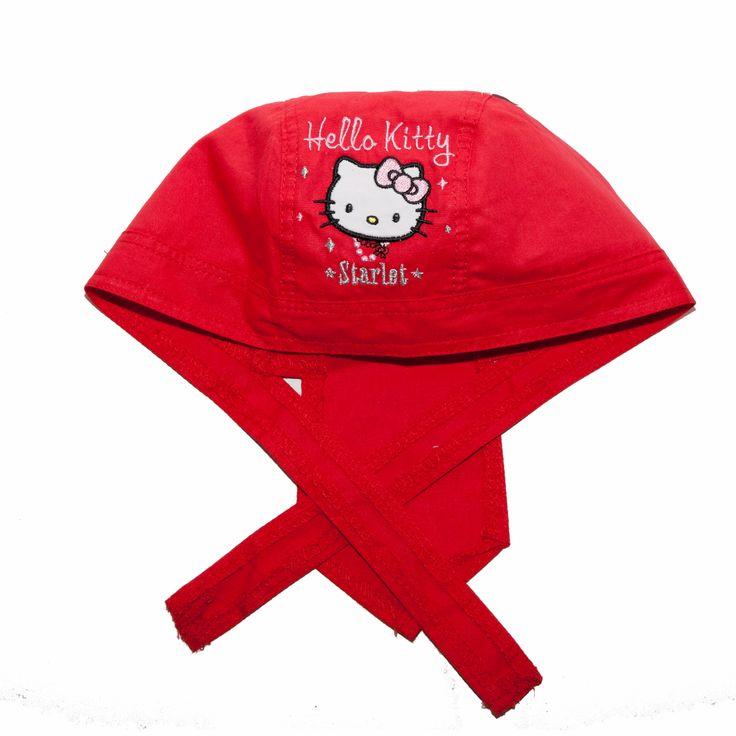 Bandana Hello Kitty - rosu http://hainuteanimate.ro/13-accesorii-bebelusi
