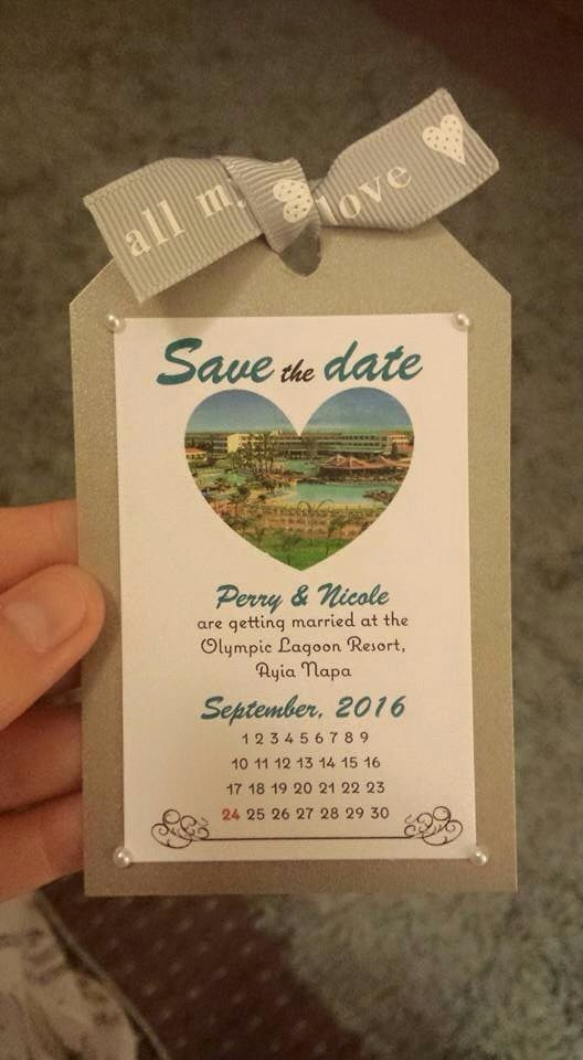 """Lovely luggage label """"save the date"""" cards for a wedding abroad. Could also be used as a wedding invitation? X"""