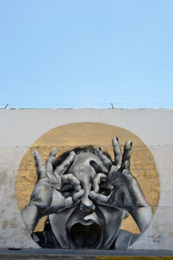 mural, by MESA.