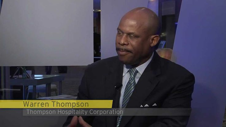 Ernst & Young TV: Warren Thompson, Thompson Hospitality