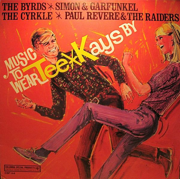 Various - Music To Wear Tee*Kays By (Vinyl, LP) at Discogs  1967/compilation