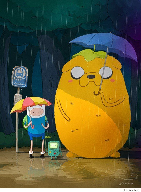 Adventure Time Totoro- I love this!!
