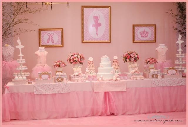 ballerina themed baby shower   Ballerina Party by Mariana Sperb Party  Design - Paperblog