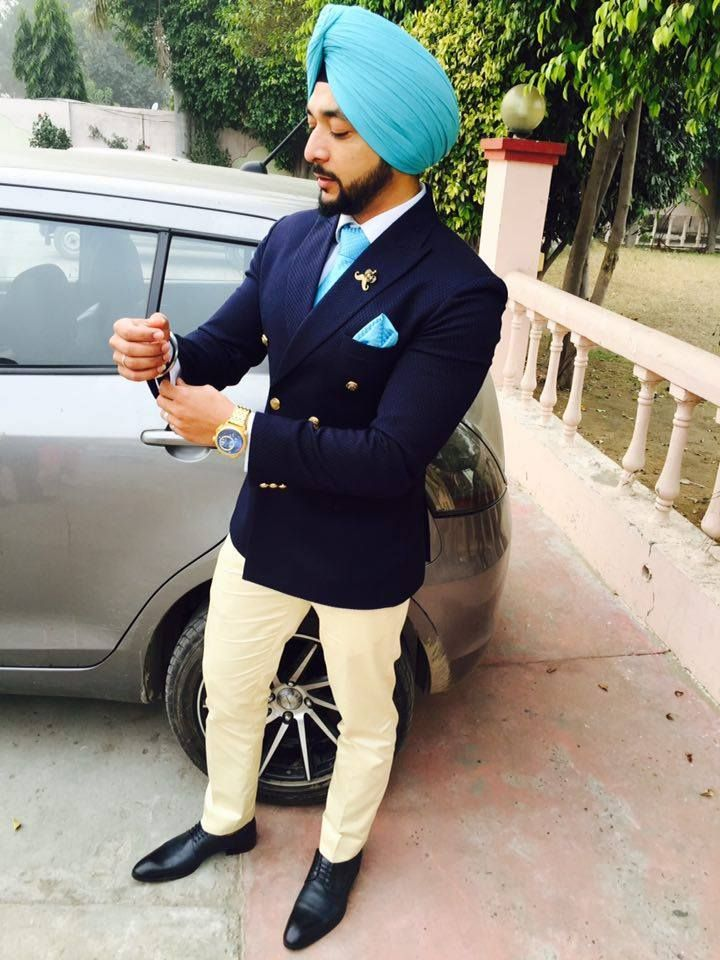 Men's Fashion Urban Sardar - Double breasted suits are slowly making a comeback...