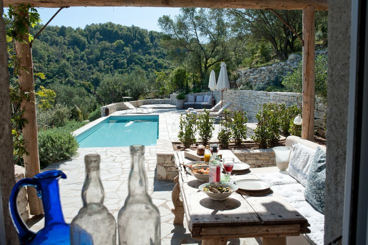 Romantico rifugio a Corfù | Shabby Chic Mania by Grazia Maiolino