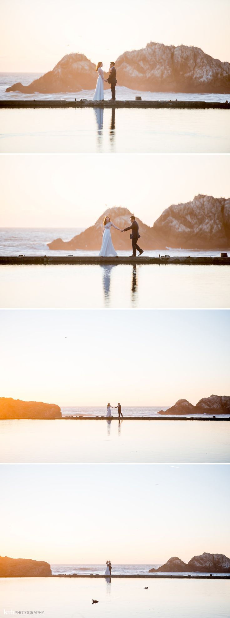 San Francisco Engagement Session at Sutro Baths | KMH Photography, Las Vegas + Destination Wedding Photographer
