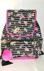 ⌂Ð BETSEY JOHNSON Backpack Floral  #Pink #BLACK multi #color Travel, gym dia... Be http://j.mp/2niS811