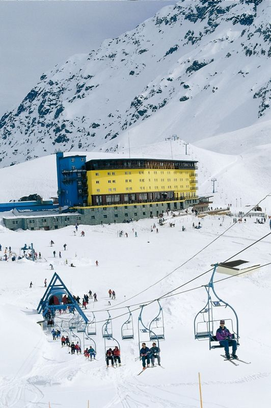 Portillo ski resort