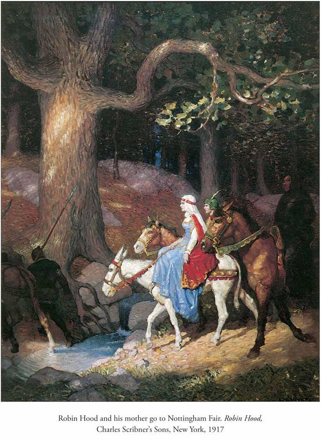 N. C. Wyeth. Few illustrators can match Wyeth's work from the early 20th century. Some of his children also became artists, most notably Carolyn and Andrew. The Wyeths are probably of the most famous family of artists in America.