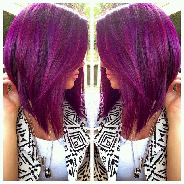 This color highlights, purple base