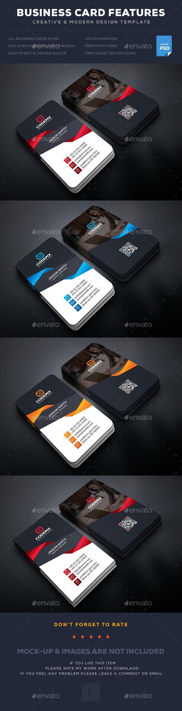 25 best business cards images on pinterest visit cards business business card reheart Gallery
