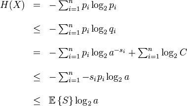 First Shannon' theorem: Series, Dei Limiti, Stabilisc Che, Nerdy Stuff, Primo Teorema, Nella Teoria, Variabili Aleatori, Stabilisc Dei, Significato Operativo