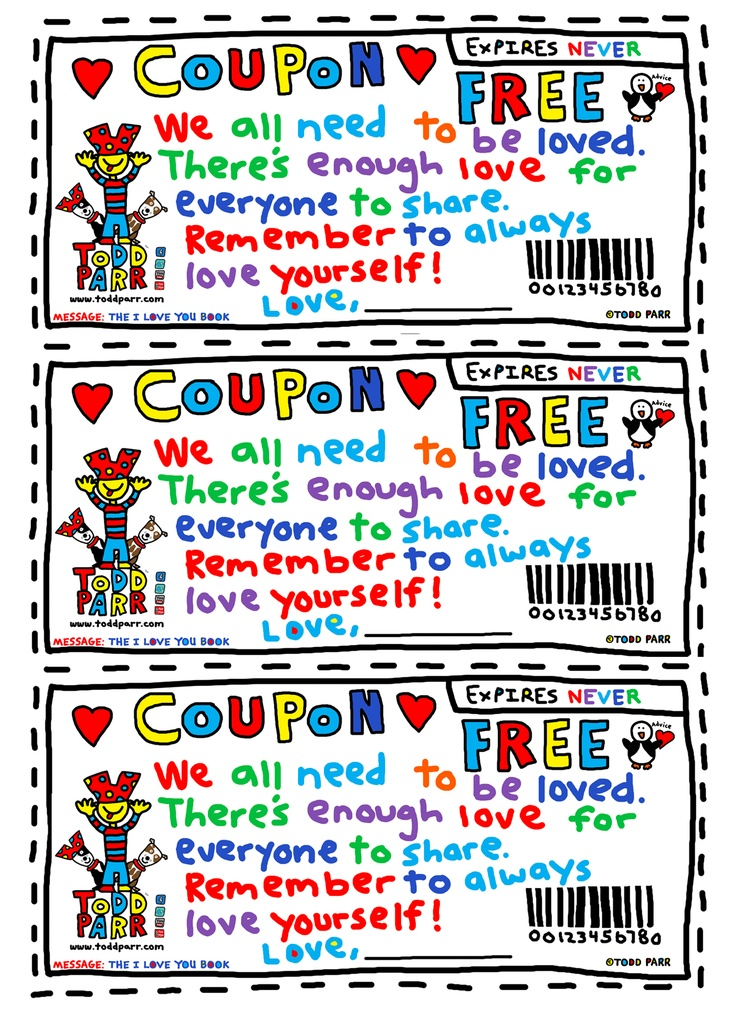 Coupons activities for students
