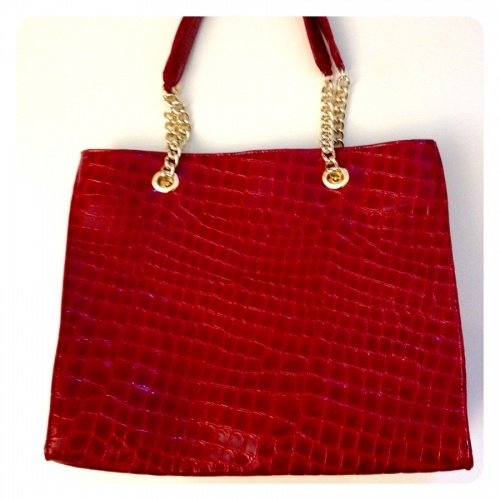 Toni Tote Patent Leather was $309 now $111.94