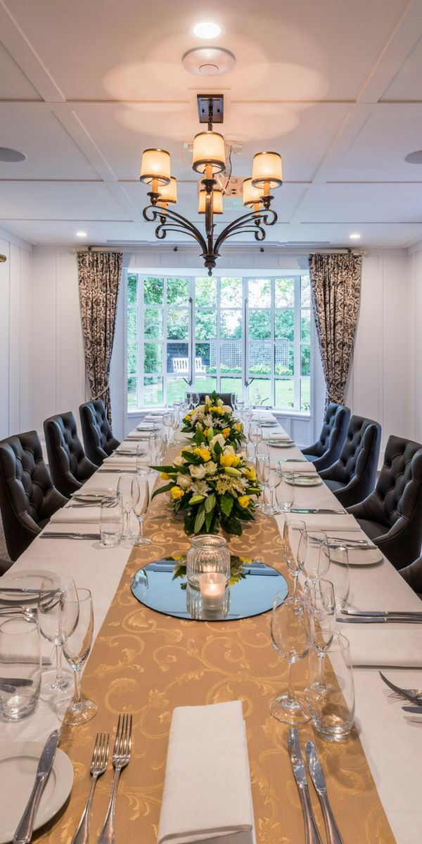 Banquet style dining in The Residence, The George, Christchurch NZ
