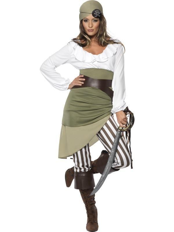 Shipmate Sweetie Piraat Dames Kostuum!