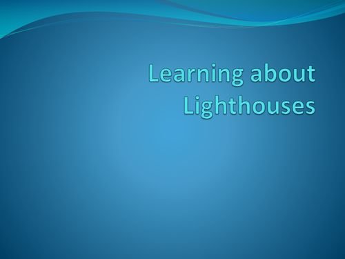Information about lighthouses