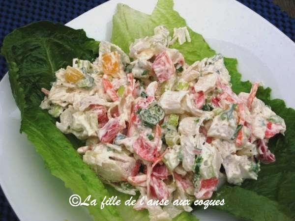 Pour les lunchs de mon mari, je dois faire obligatoirement, une fois par semaine, une salade de goberge. Il y tient! Je me cherche donc di...