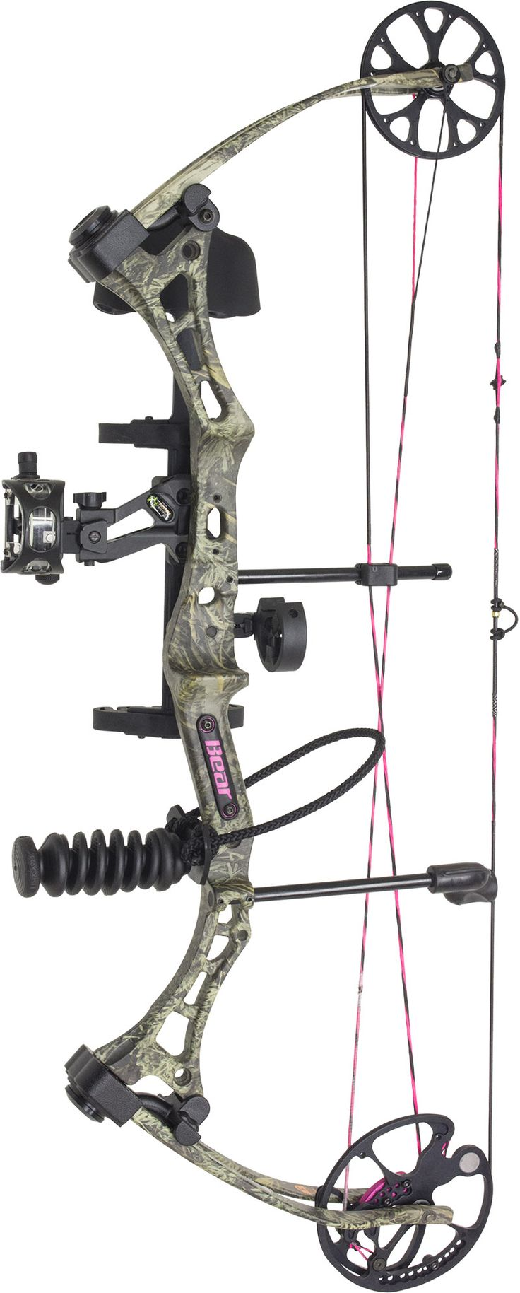 bear finesse compound bow package for women